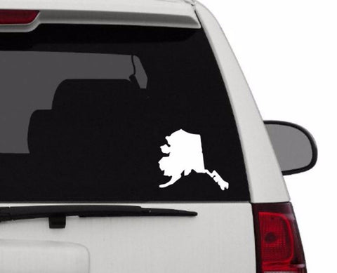 Decal - Alaska Decal For Car, Laptop, Macbook, Ipad - Alaska Sticker