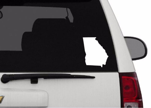Decal - Georgia Decal For Car, Laptop, Macbook, Ipad - Georgia Sticker