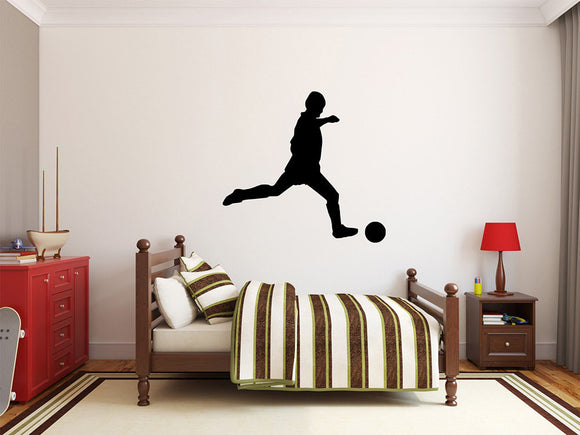 Soccer Player Wall Decal - 27