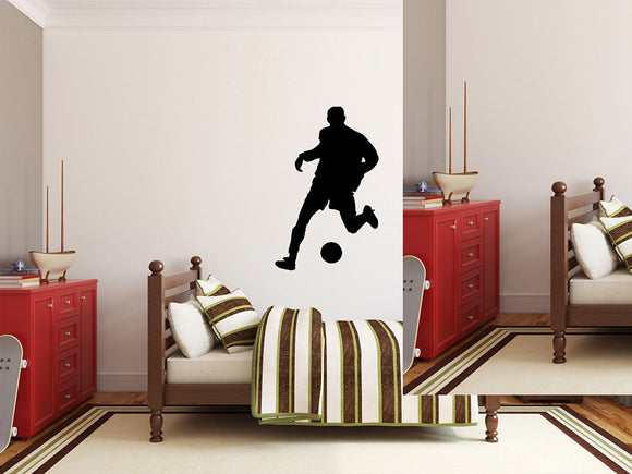 Soccer Player Wall Decal - 43