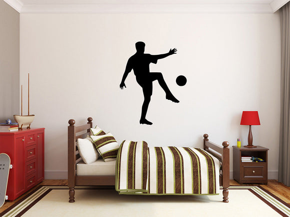 Soccer Player Wall Decal - 34