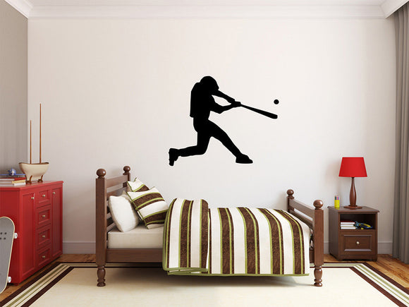 Baseball Player Wall Decal - 33