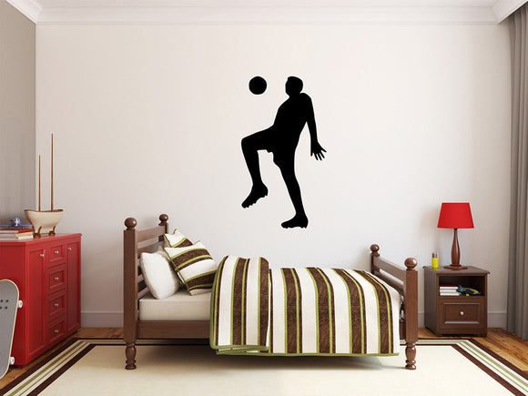 Soccer Player Wall Decal - 40