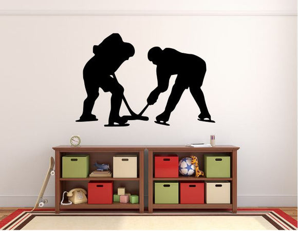 Hockey Players Wall Decal - 27