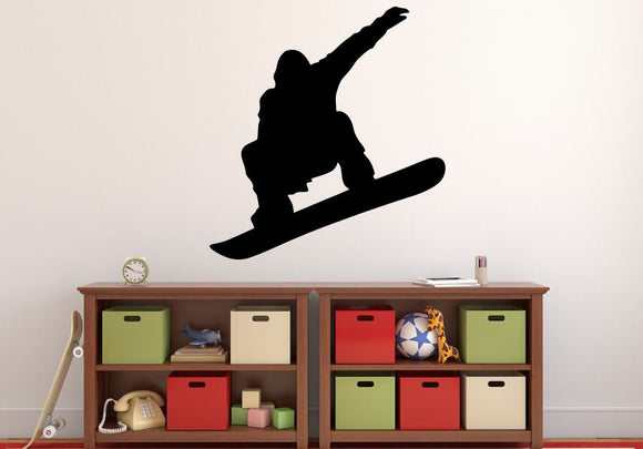 Snowboarder Wall Decal - 29