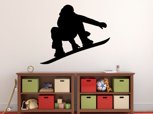 Snowboarder Wall Decal - 27