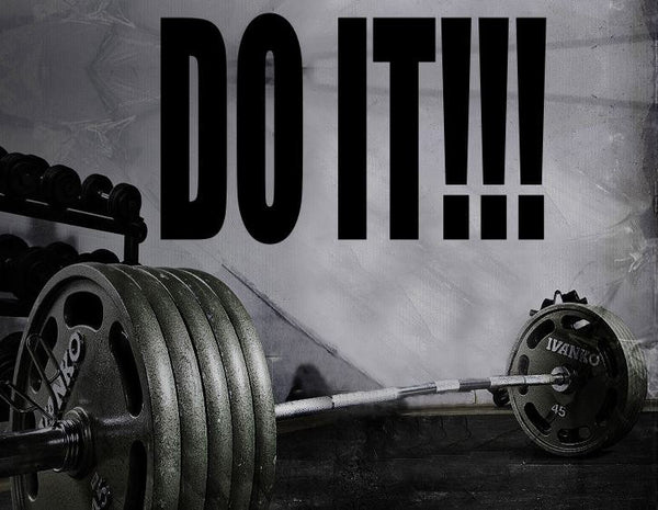 Gym Wall Decal For Home Gym Motivational Fitness - Do It!!!