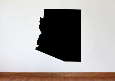 "Arizona Wall Decal - 27"" x 31"" State of Arizona Vinyl Wall Decal"