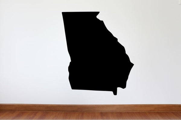 "Georgia Wall Decal - 31"" x 27"" State of Georgia Vinyl Wall Decal"
