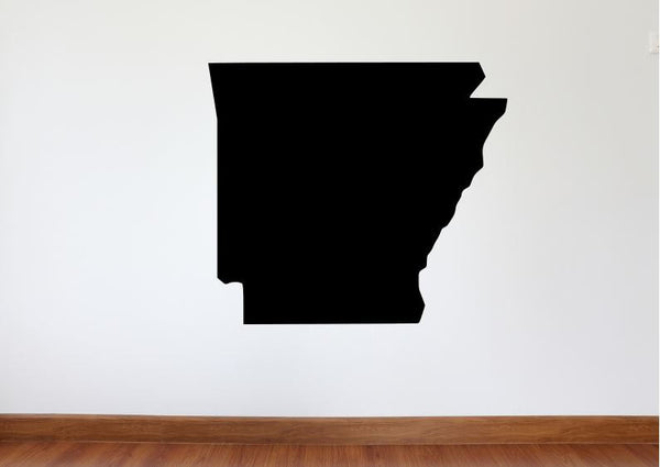 "Arkansas Wall Decal - 27"" x 31"" State of Arkansas Vinyl Wall Decal"