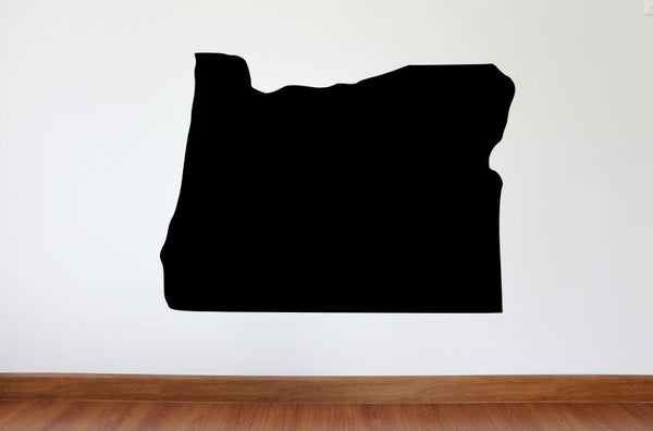 "Oregon Wall Decal - 27"" x 36"" State of Oregon Vinyl Wall Decal"