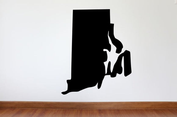 Rhode Island Wall Decal - 32
