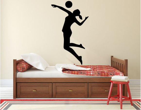 Volleyball Player Wall Decal - 45