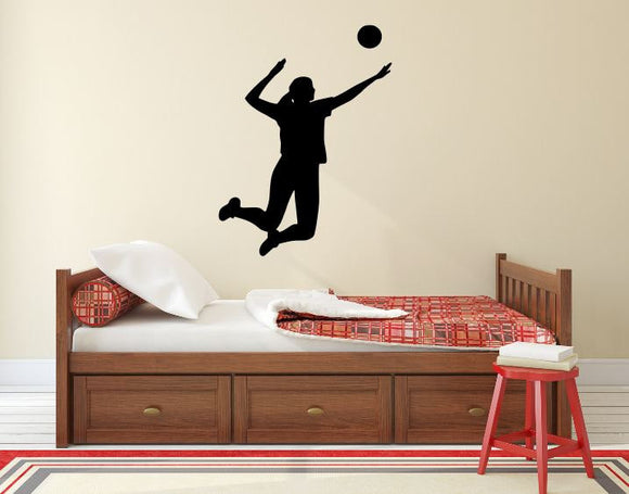 Volleyball Player Wall Decal - 36