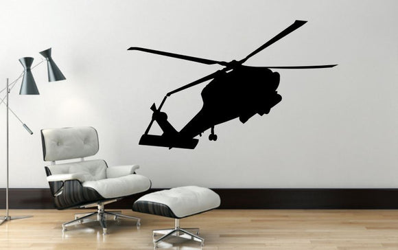 Helicopter Wall Decal - 27