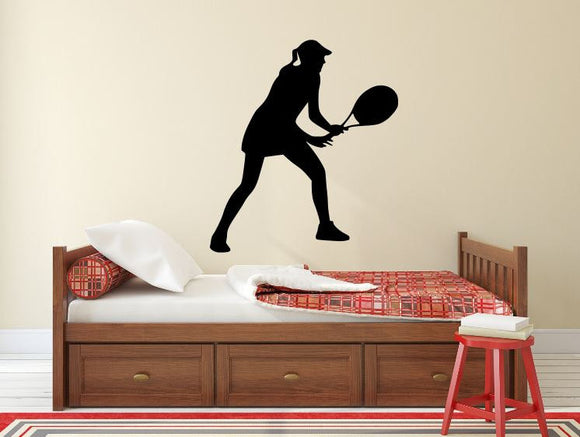 Tennis Player Wall Decal - 30