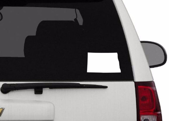 Decal - North Dakota Decal For Car, Laptop, Macbook, Ipad - North Dakota Sticker