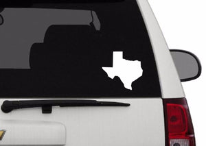 Decal - Texas Decal For Car, Laptop, Macbook, Ipad - Texas Sticker