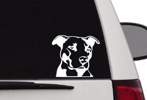Decal - Pit Bull Decal For Car, Laptop, Macbook, Ipad - Pit Bull Sticker PB2