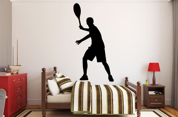 Tennis Player Wall Decal - 45