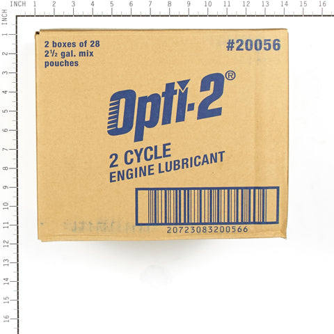 Interlube Intl. 20056 OPTI-2, Universal 2-Cycle Oil Mix, 3.2 oz Pouch