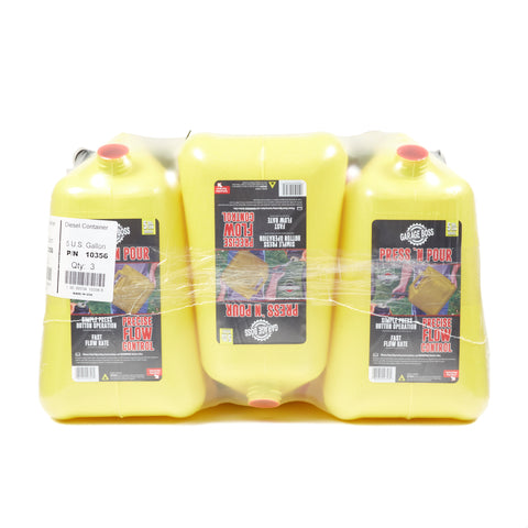 Briggs & Stratton GB356 GarageBoss Press 'N Pour 5 Gallon Diesel Can