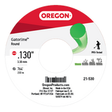 Oregon 21-530 Trimmer Line: Round Gatorline