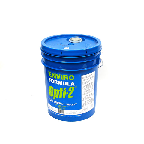 Interlube Intl. 20015 OPTI-2 Universal 2-Cycle Oil Mix, 5.3 gal Pail