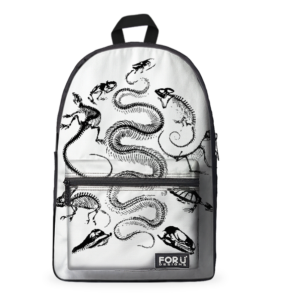 Reptile & Amphibian Skeletons Backpack