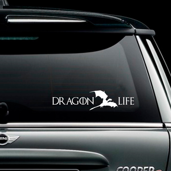 Dragon Life Decal