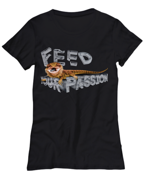 Feed Your Passion Beardie Womens Tee