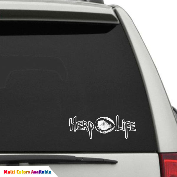 Herp Life Decal Vinyl - Truck rear window decals   how to purchase and get a great value safely