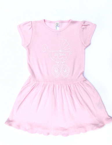 Big Sister Baby Carriage Dress