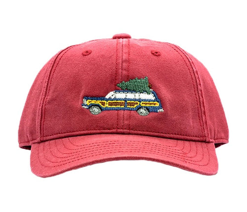 Holiday Wagoneer Weathered Red Baseball Hat