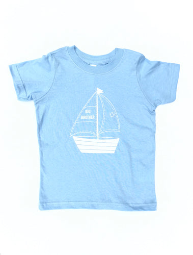 Big Brother Sailboat Tee
