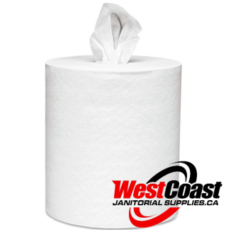 "CENTERPULL PAPER TOWEL PUR 2 PLY 600 SHEETS 3"" CORE 101308"