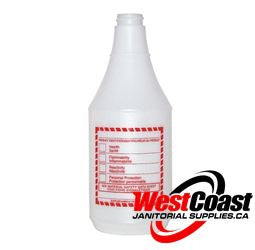 COMMERCIAL SPRAY BOTTLE 946ML WITH WHMIS LABEL