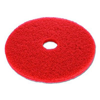 "RED PAD 15"" 3M FLOOR PAD LOW SPEED WET/DRY 5/CASE"