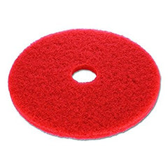 "RED PAD 18"" 3M FLOOR PAD LOW SPEED WET/DRY 5/CASE"