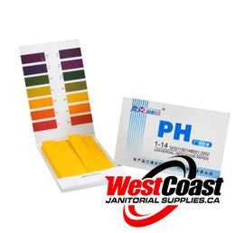 UNIVERSAL pH TEST PAPER STRIPS FULL RANGE 1-14 80 STRIPS