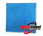 COMMERCIAL BLUE MICRO FIBER CLOTH EACH