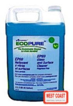 GLASS CLEANER AVMOR ECOPURE EP61 GLASS AND SURFACE CLEANER  4L