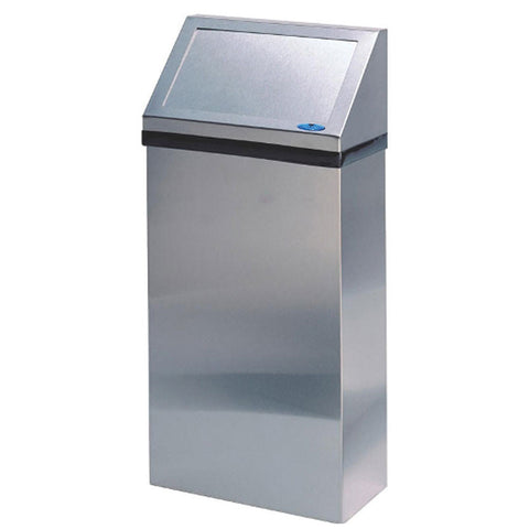 WALL RECEPTICLE STAINLESS STEEL FROST F303 W/ LID