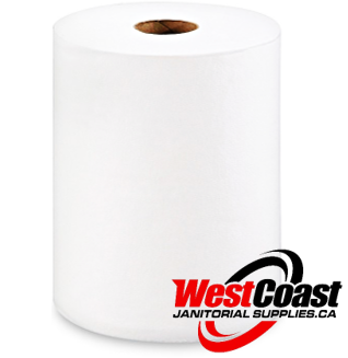 "ROLL PAPER TOWEL GEORGIA PACIFIC ENMOTION 10"" X 800 FEET X 6 ROLLS WHITE 1 PLY 4800'/CASE"