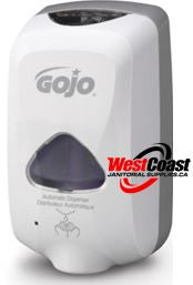 HAND SOAP REFILL GOJO TFX FOAM SOAP DISPENSER AUTOMATIC