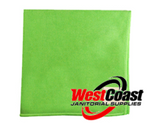 COMMERCIAL GREEN MICRO FIBER CLOTH EACH
