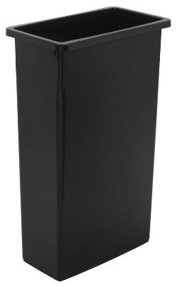 WALL RECEPTICLE CONTINENTAL WALL HUGGER 23 GALLON 8923 BLACK
