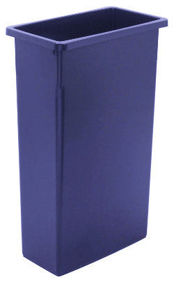 WALL RECEPTICLE CONTINENTAL WALL HUGGER 23 GALLON 8923 BLUE