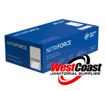 NITRIFORCE NITRILE DISPOSABLE EXAMINATION GLOVES 100/CASE LARGE