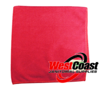 COMMERCIAL RED MICRO FIBER CLOTH EACH